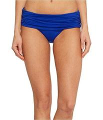LAUREN Ralph Lauren Beach Club Solids Wide Shirred
