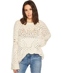 Free People Traveling Lace Sweater