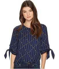 Lucky Brand Geo Printed Top