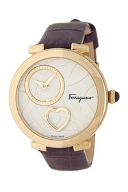 Salvatore Ferragamo Women's Cuore Quartz Watch