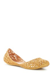 Melissa Campana Caged Jelly Flat