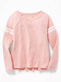 Softest Graphic Raglan-Sleeve Tee for Girls