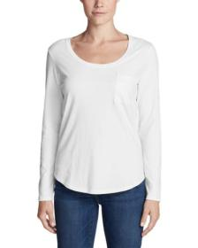 Women's Gypsum Long-Sleeve T-Shirt