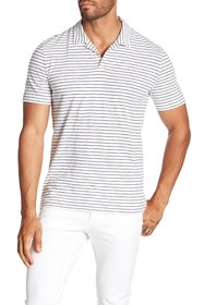 Theory Willem Stripe Polo Shirt