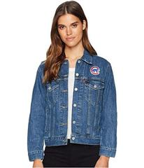 Levi's® Womens Chicago Cubs Patch Trucker Jac