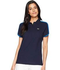 Lacoste Short Sleeve Crepe Pique Made In France Po