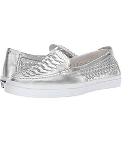 Cole Haan Ch Argento Metallic Leather/Optic White