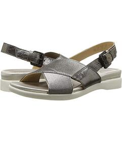 Naturalizer Gunmetal Metallic Leather