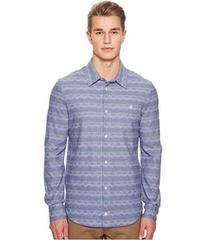 Missoni Jersey Denim Zigzag Button Up Shirt