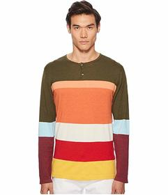 Missoni Color Block Henley Sweater