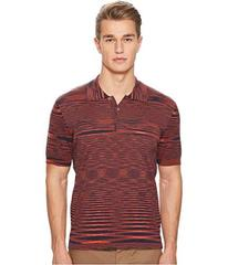 Missoni Fiammato Pima Cotton Polo Sweater