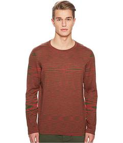 Missoni Fiammato Pima Cotton Long Sleeve Sweater