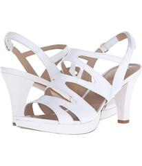 Naturalizer White Leather