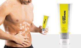 Men's Tone Abs and Increase Sweat Workout Gel (4 O