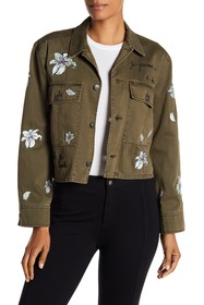 Cinq a Sept Cosette Rhinestone Embroidered Jacket