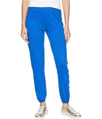 Juicy Couture Track Terry JXJC Logo Varsity Pants