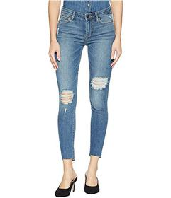 Sam Edelman The Kitten Mid-Rise Skinny Ankle in Am