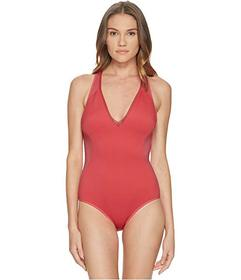 Stella McCartney Neoprene & Mesh One-Piece