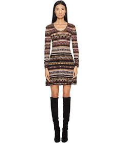 M Missoni Floral Lurex Jacquard Dress
