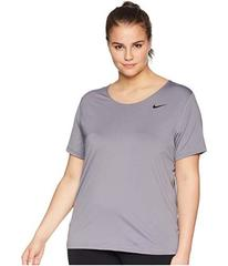 Nike Pro Mesh Short Sleeve Top (Size 1X-3X)