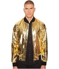 Versace Collection Shiny Gold Bomber