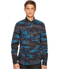 Versace Jeans Couture Tiger Camo Button Down