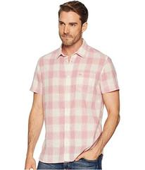 Calvin Klein Jeans Short Sleeve Gauze Check Button