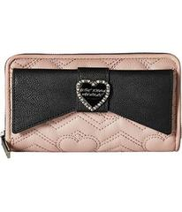 Betsey Johnson Large Bow Wallet
