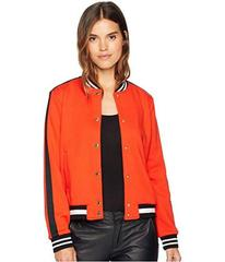 Juicy Couture Luxe Tiger Patch Terry Bomber Jacket