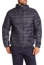 Hawke & Co. Hooded Packable Down Jacket
