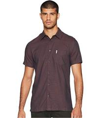 Ben Sherman Short Sleeve Blocked Dobby Shirt