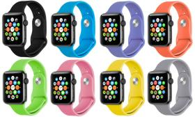 Band For Apple Watch Soft Silicone Replacement Wri