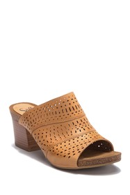 Sofft Magnolia Perforated Open Toe Mule