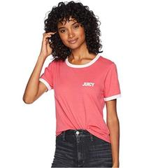 Juicy Couture Juicy Short Sleeve Ringer Tee