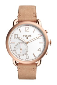Fossil Women's Q Tailor Hybrid Smart Leather Strap