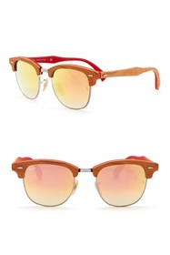 Ray-Ban 51mm Square Clubmaster Sunglasses