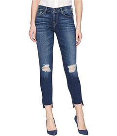 7 For All Mankind The Ankle Skinny w/ Destroy & St