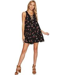 Show Me Your Mumu Rancho Mirage Lace-Up Tunic Dres