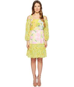 Boutique Moschino Patchwork Print Dress with Cold