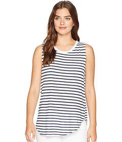 Michael Stars Riviera Stripe Shift Tank Top