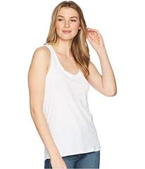 7 For All Mankind Slub Racerback Tank Top
