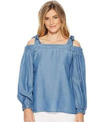 MICHAEL Michael Kors Tencel Off Shoulder Top