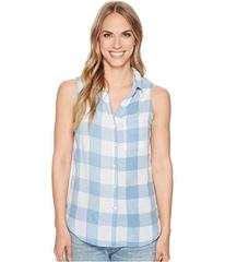 Dylan by True Grit Chambray Buffalo Plaid Sleevele
