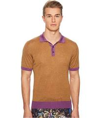 Etro Color Blocked Polo