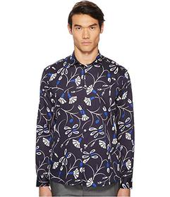 Etro Abstract Blossom Button Down Shirt
