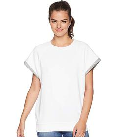 7 For All Mankind Two-Tone Muscle Sweatshirt