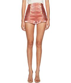 Pierre Balmain Gold Buttoned Hotpants