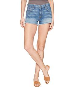 7 For All Mankind Cut Off Shorts with Step Hem in
