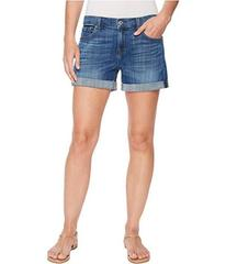 7 For All Mankind Mid Roll Shorts in Broken Twills