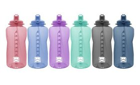 1 Gal. Giant Water Bottle with Carry Handle and St
